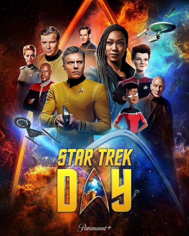 "Poster zum ""Star Trek Day 2021"""