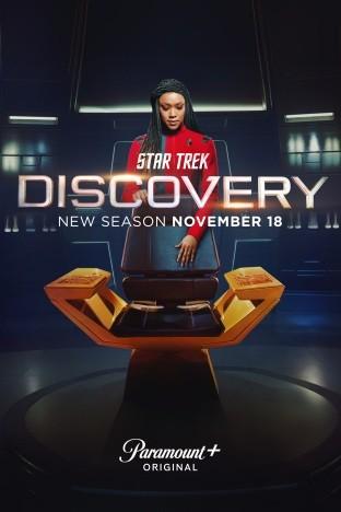 """Poster zur vierten Staffel von """"Star Trek: Discovery"""""""