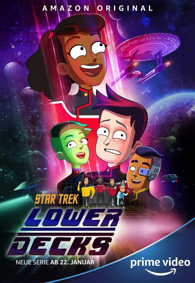 """""""Star Trek: Lower Decks"""" läuft bei Prime Video"""