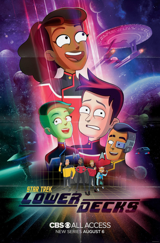 "Poster zur Serie ""Star Trek: Lower Decks"""