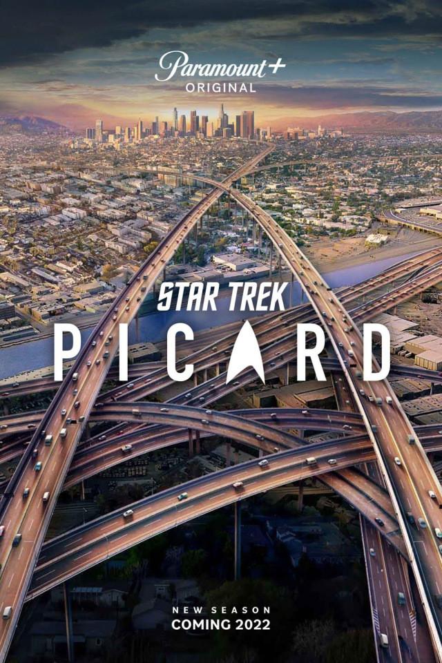 """Poster zur zweiten Staffel von """"Star Trek: Picard"""""""