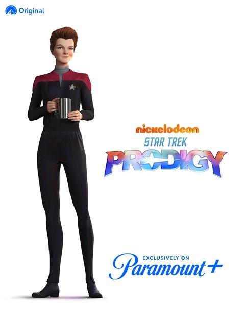 "Kathryn Janeway in ""Star Trek: Prodigy"""