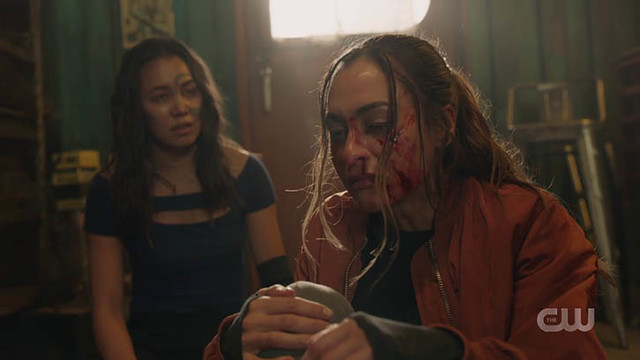 Raven (Lindsey Morgan) muss mit den Konsequenzen ihrer Entscheidung leben.