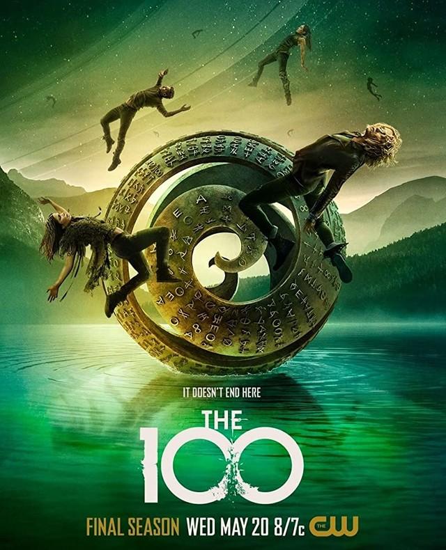 """""""It doesn't end here"""" - Poster zur siebten Staffel von """"The 100"""""""