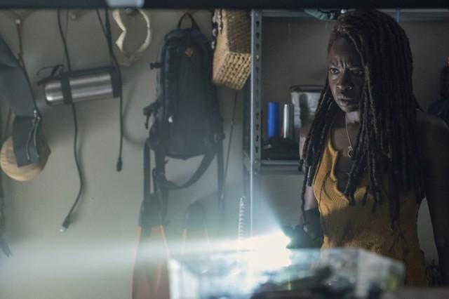 Michonne (Danai Gurira) findet Hinweise auf Ricks Überleben.