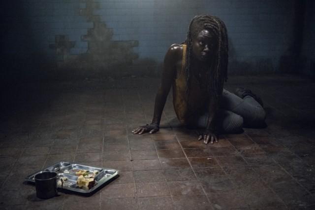 Michonne (Danai Gurira) sitzt in der Falle.