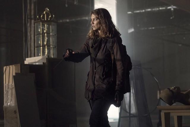 Maggie (Lauren Cohan) auf der Flucht