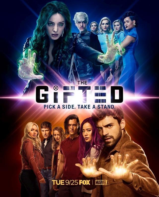"""Poster zur zweiten Staffel von """"The Gifted"""""""