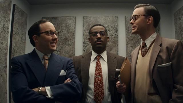Die Herablassung der anderen: Henry Emory (Ashley Thomas) ist der einzige Schwarze im Büro.