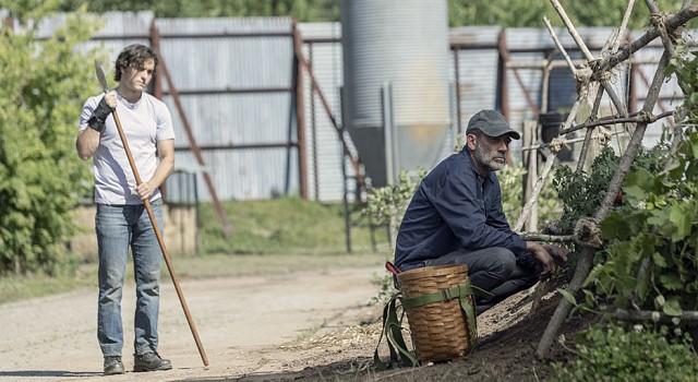 Negans (Jeffrey Dean Morgan) neue Freiheit ist begrenzt.