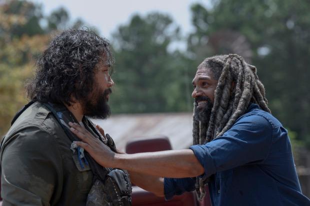 Gegenüber den anderen versucht Ezekiel (Khary Payton) den Schein zu wahren.