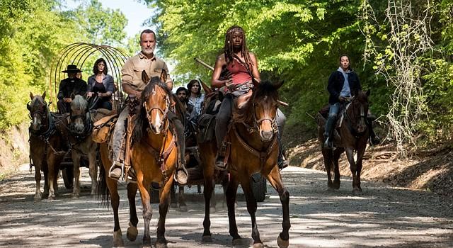 Rick (Andrew Lincoln) versucht eine neue Zivilisation aufzubauen.