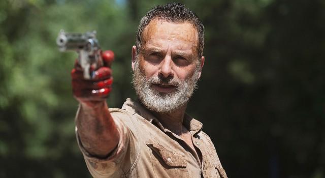 Andrew Lincoln als Rick Grimes in seiner letzten Folge von The Walking Dead