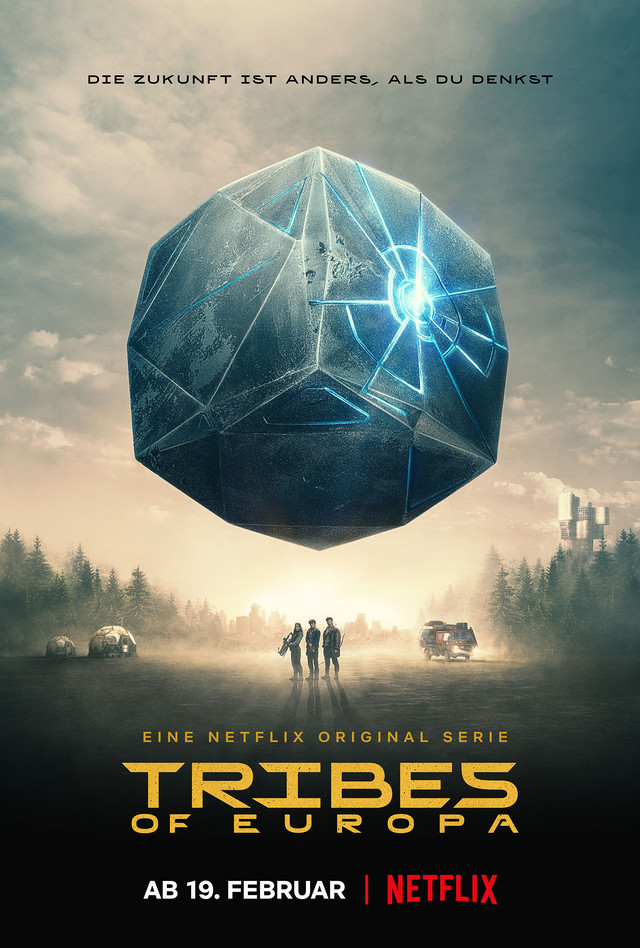 """Poster zu """"Tribes of Europa"""""""