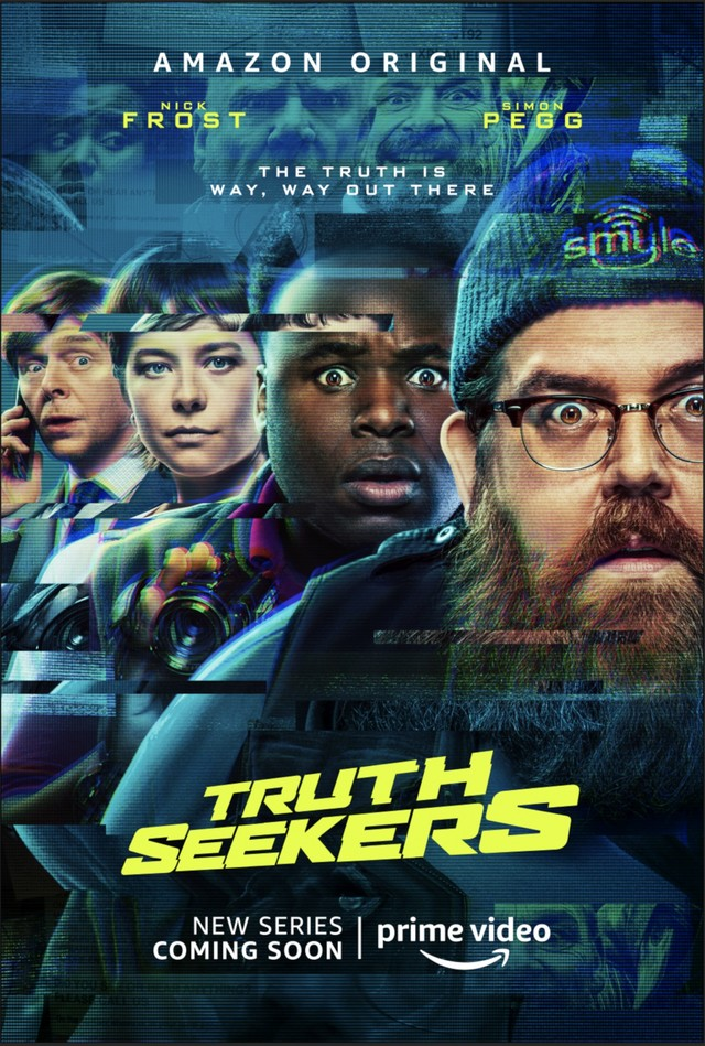 "Poster zur Serie ""Truth Seekers"""