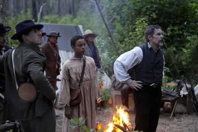Im Lager von John Brown (Ethan Hawke)