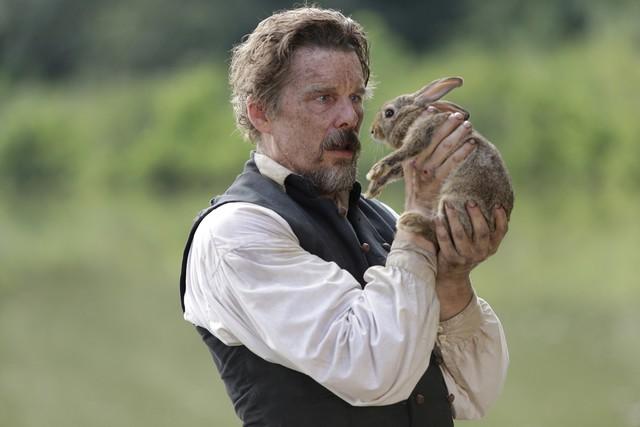 """Symbolbild: John Brown (Ethan Hawke) und der Hase in """"The Good Lord Bird"""""""