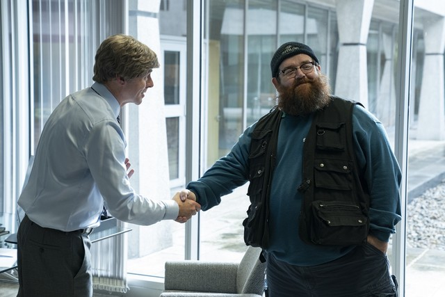 """Chef Dave (Simon Pegg) mit Gus Roberts (Nick Frost) in """"Truth Seekers"""""""