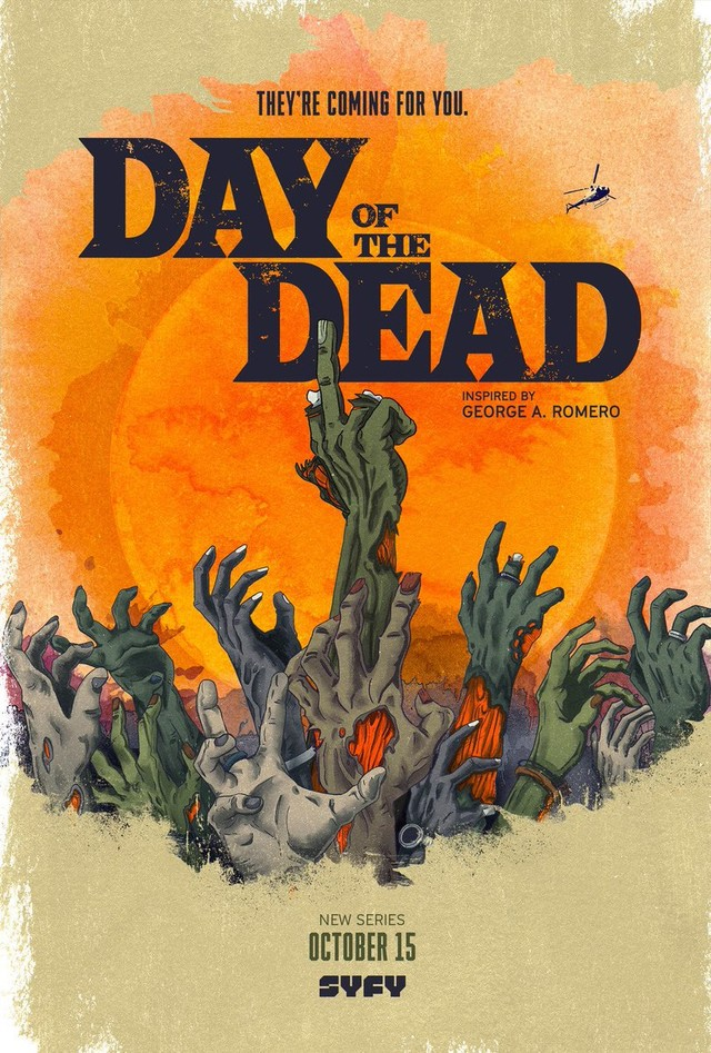 """Poster zu """"Day of the Dead"""""""