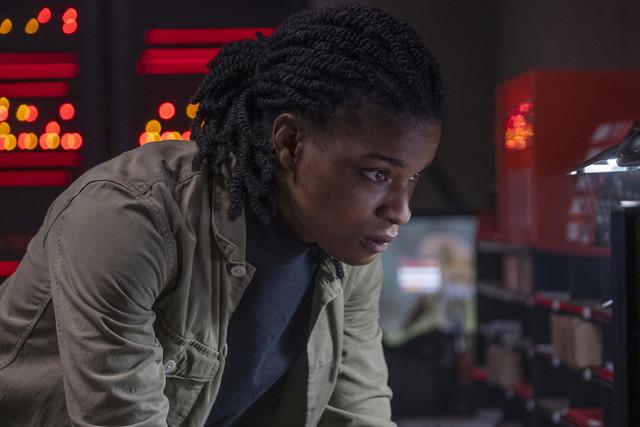 Sorgenvoller Blick: Agentin 355 (Ashley Romans) muss Yorick auf seiner Reise beschützen.