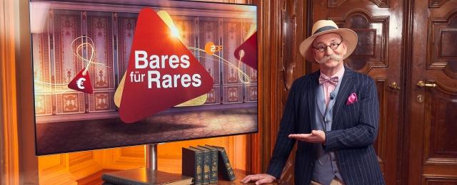 """""""Bares für Rares"""" ist für das ZDF immer noch ein Garant für Topquoten am Nachmittag - und auch die großen Abendshows laufen überragend. Mit Reichweiten zwischen fünf und sechs Millionen Zuschauern deklassierte die Trödelshow mit"""