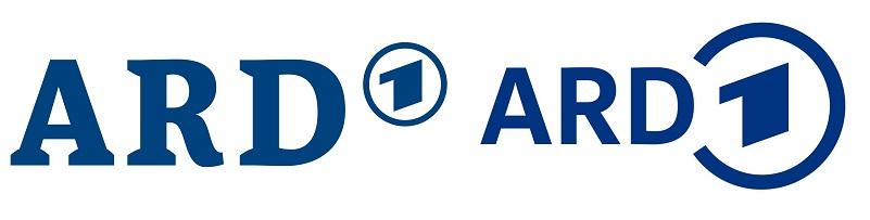 Das alte (l.) und das neue ARD-Logo