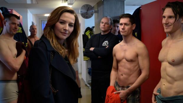 Frau Jordan bei der Feuerwehr