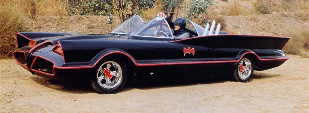 Eine Klasse für sich: Das Batmobil