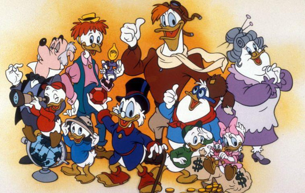 "Der ""DuckTales""-Clan"