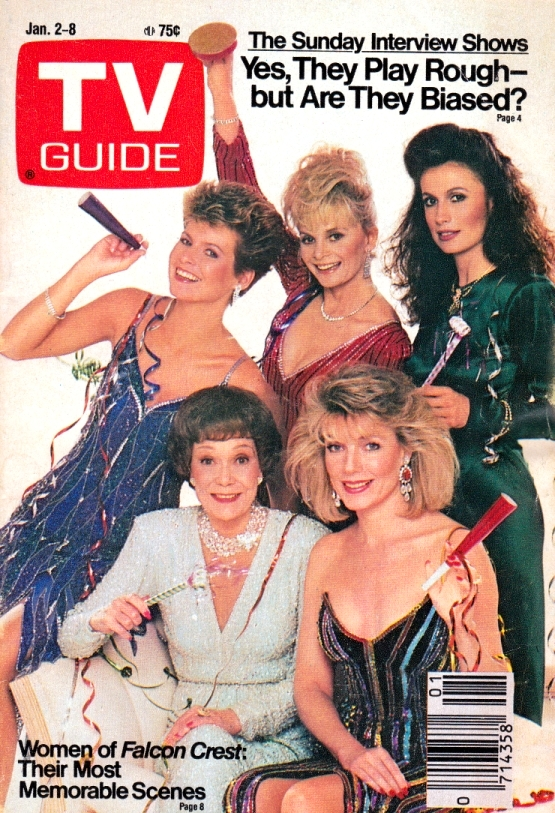 """Cover Girls der 80er Jahre: die """"Falcon Crest""""-Stars"""
