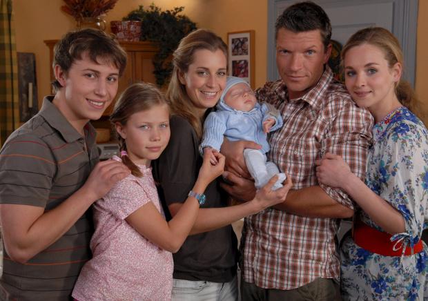 Die neue Generation: Daniel, Lisa, Sonja, Lukas, Stefan, Jenny