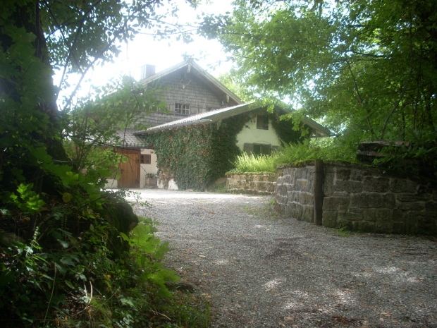 ... als wäre nie etwas gewesen: das alte Forsthaus