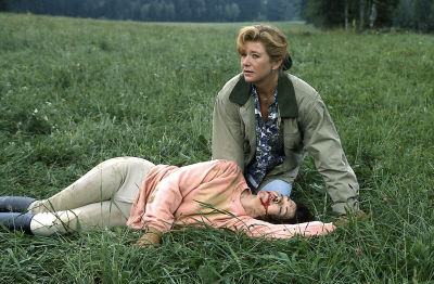 Silva (Jutta Speidel) musste Angelikas (Anja Kruse) Unfall mitansehen.