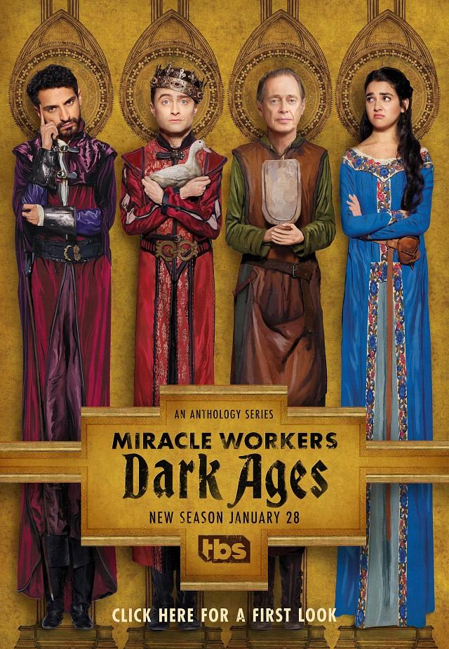 """Poster zur zweiten Staffel von """"Miracle Workers"""""""