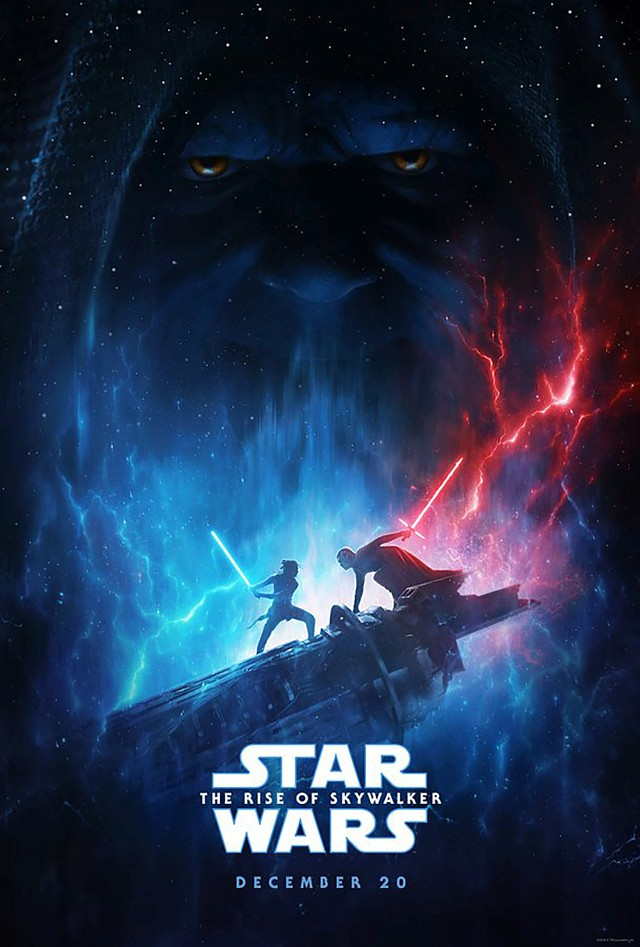 "Poster zum Film ""Star Wars: The Rise of Skywalker"""