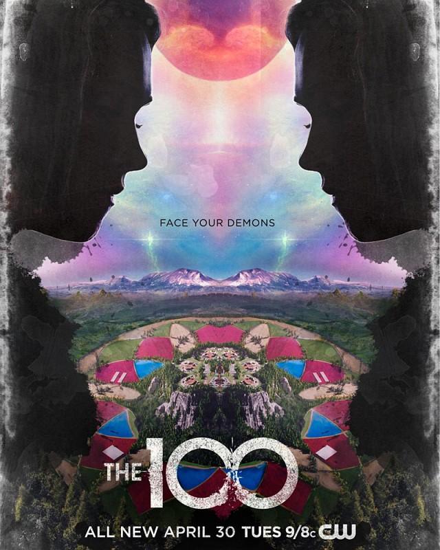 """Poster zur sechsten Staffel von """"The 100"""""""