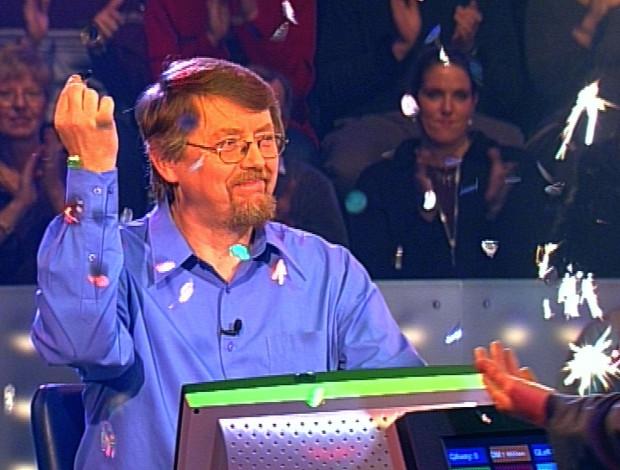 Prof. Eckhard Freise wird der erste Millionen-Gewinner